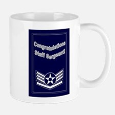 Congratulations USAF Staff Se Mug