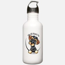 Wild Boar Dachshund IAAM Water Bottle