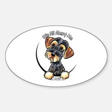 Wild Boar Dachshund IAAM Decal
