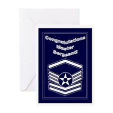 Congratulations Usaf Master S Greeting Card