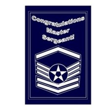 Congratulations USAF Master S Postcards (Package o