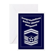 Congratulations Usaf Senior M Greeting Card