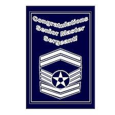 Congratulations USAF Senior M Postcards (Package o