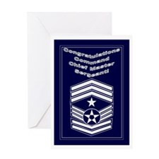 Congratulations Usaf Command Greeting Card