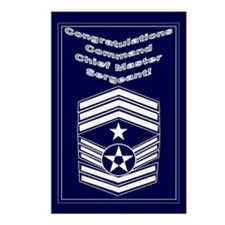 Congratulations USAF Command Postcards (Package of