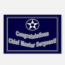 Congratulations USAF Chief Ma Postcards (Package o