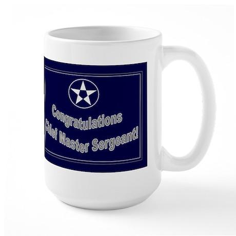 Congratulations Usaf Chief Ma Large Mug