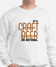 Craft Beer or Nothing Sweater