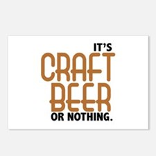 Craft Beer or Nothing Postcards (Package of 8)