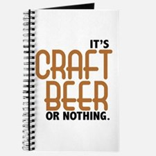 Craft Beer or Nothing Journal