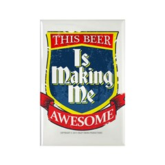 Making Me Awesome Rectangle Magnet (100 pack)