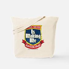 Making Me Awesome Tote Bag