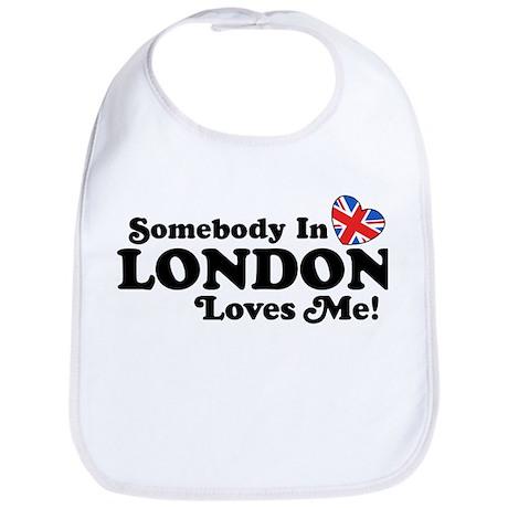 Somebody In London Loves Me Bib