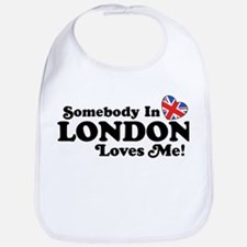 Somebody In London Loves Me Bib