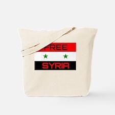 Funny Free syria Tote Bag