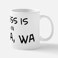 Happiness is Tacoma Mug