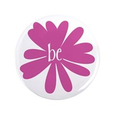 """just be. 3.5"""" Button (100 pack)"""