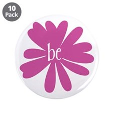 """just be. 3.5"""" Button (10 pack)"""