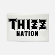 Thizz Nation Rectangle Magnet