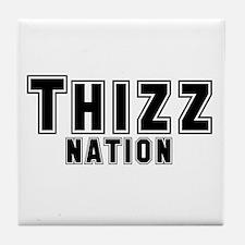 Thizz Nation Tile Coaster