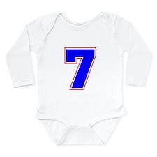 DRUM BATTLE # 7 Long Sleeve Infant Bodysuit