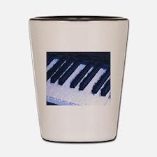 Piano Keyboard Shot Glass
