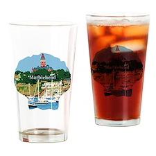 Marblehead MA Drinking Glass