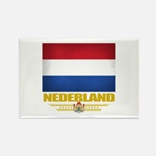 Netherland Pride Rectangle Magnet