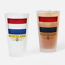 Netherland Pride Drinking Glass