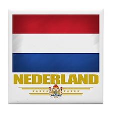 Netherland Pride Tile Coaster
