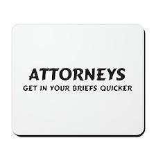 Attorneys Mousepad