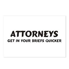 Attorneys Postcards (Package of 8)
