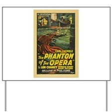 Original Phantom Yard Sign