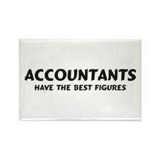 Accountants Rectangle Magnet