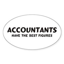 Accountants Oval Decal