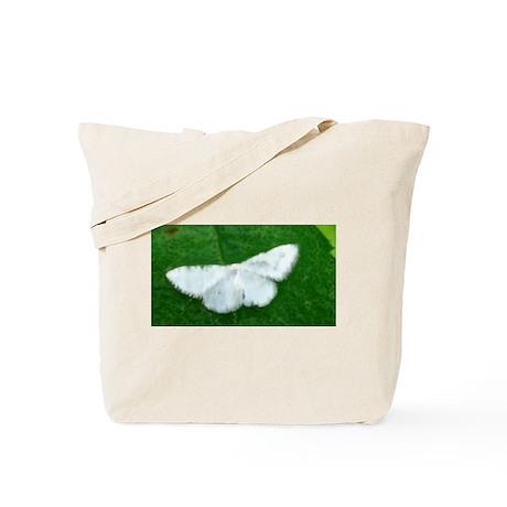 White Moth Tote Bag
