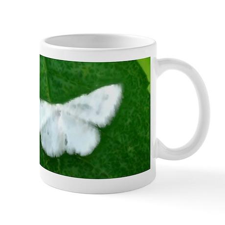 White Moth Mug