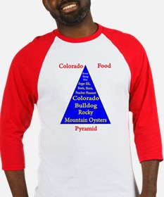 Colorado Food Pyramid Baseball Jersey