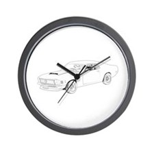 Ford Mustang Boss 1970 Wall Clock