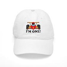 Racing Car 1st Birthday Baseball Cap