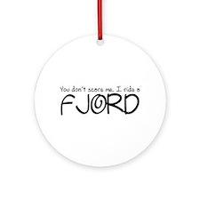 Fjord Ornament (Round)