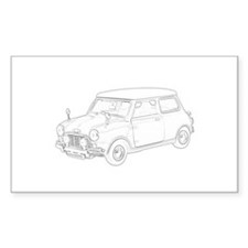 Mini Cooper 1962 Decal