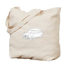 Mini Cooper 1962 Tote Bag