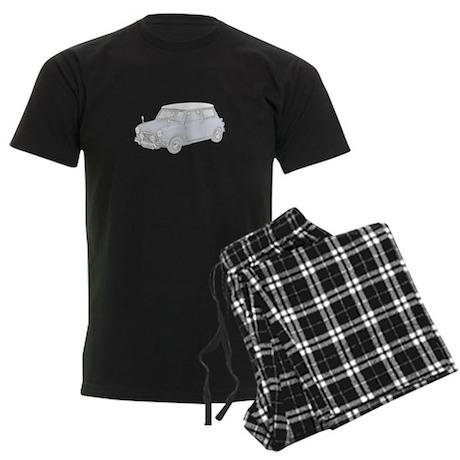 Mini Cooper 1962 -colored Men's Dark Pajamas
