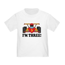 Racing Car 3rd Birthday T