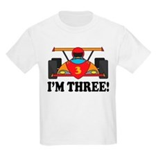 Racing Car 3rd Birthday T-Shirt