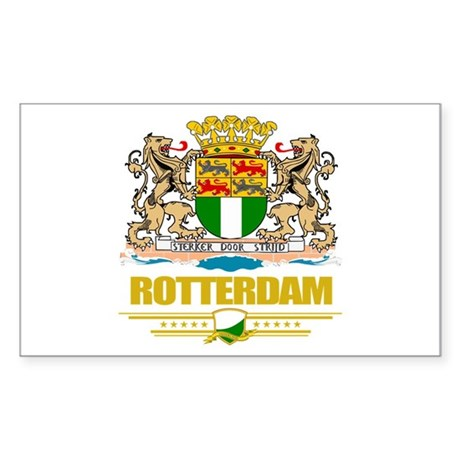 Rotterdam Sticker (Rectangle)