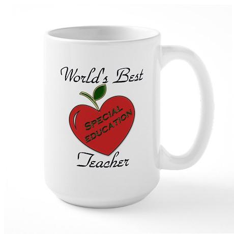 Worlds Best Teacher Apple special Mugs