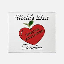 Unique Best kindergarten teacher Throw Blanket