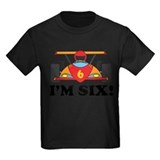 6 year old birthday Kids T-shirts (Dark)